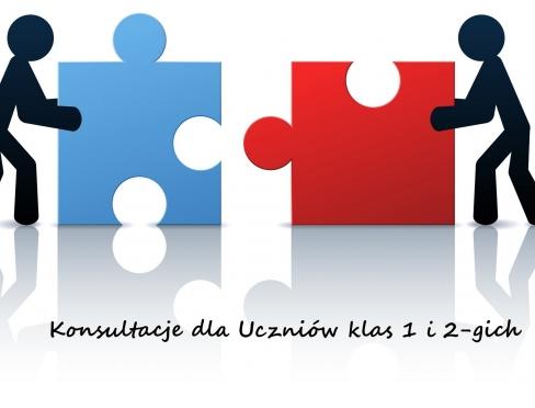 Konsultacje dla Uczniów klas 1 i 2